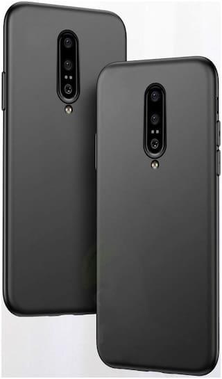 TARKAN TPU Back Cover For OnePlus 7 Pro ( Black )