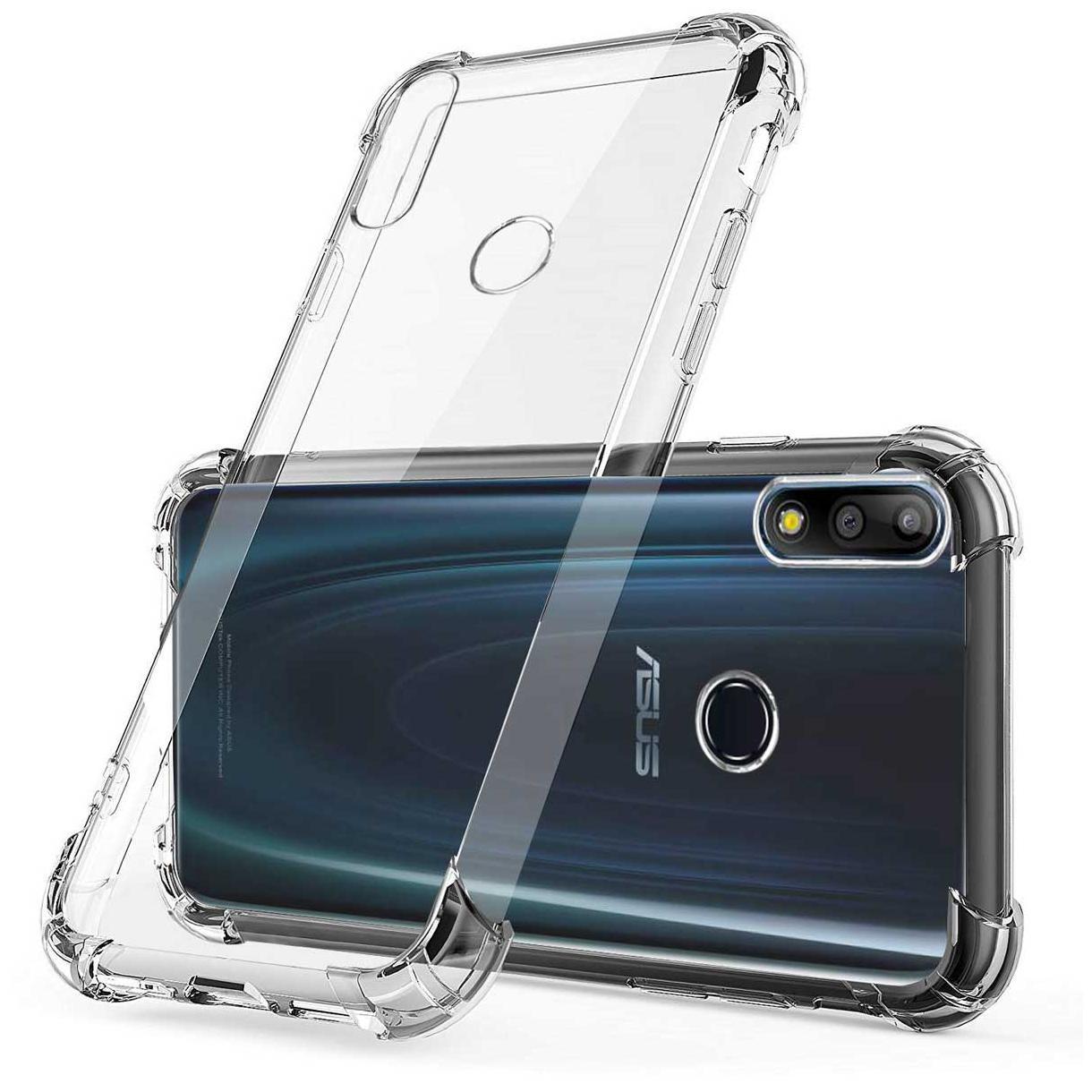 TBZ Back Cover For Asus Zenfone Max Pro M2  Transparent  by Avito Enterprises