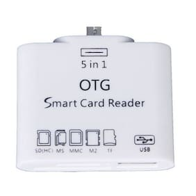 Tech Gear 5 in 1 Micro USB OTG Card Reader SD M2 TF Connection Kit for Smart Phones & Tab