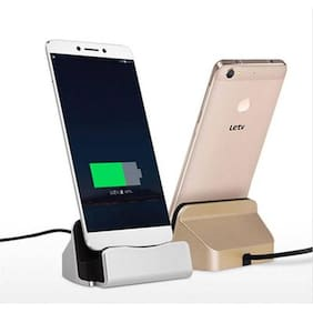 Tech Gear USB 3.1 Type-C Charger Cradle Dock Data Sync for Letv/ Meizu/Xiaomi 4c Black