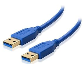 Tech Gear USB 3.0 Type A Male to Type A Male Cable (3m - 6 foot - 300cm)