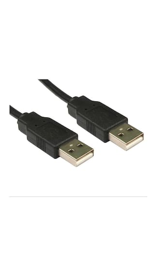 Tech Gear USB 2.0 Type A Male to Type A Male Cable (1.5m - 4.5 foot - 150cm)