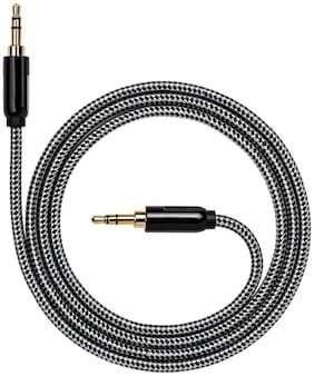 Tech-X AUX 3.5 mm Cable ( 1-1.5m , Black )