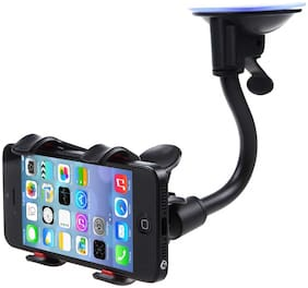 Tech-X Car Phone Mount Windshield, Car Dashboard Suction Cup Cell Mobile Phone Holder for iPhone 8 8 Plus X 7 7 Plus 6 6 Plus Galaxy S5 S6 S7 S8 Google LG Huawei