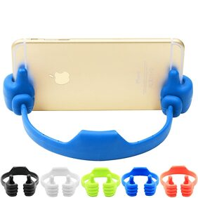 Tech-X Thumbs-up Phone Stand for Tablets, E-readers and Smart Phones - ( Assorted Colors)