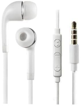 Tech-X Wired In-Ear Earphone (White)