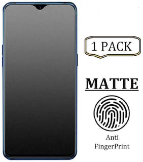 TECHCARE Matte Finish Impossible Screen Guard Anti-Fingerprint Scratch Resistant Matte Hammer Proof Impossible [Not a Tempered Glass] Designed for Oneplus 7T