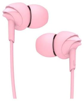 TECHFIRE TF 5000 AJ-R3 In-Ear Wired Headphone ( Pink )
