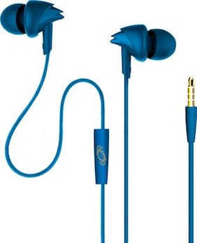 TECHFIRE TF 5000 A In-Ear Wired Headphone ( Blue )