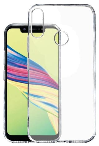 low priced d6c78 c57e2 Tecno Camon i2 / iD5A Transparent Soft back cover by Beblio