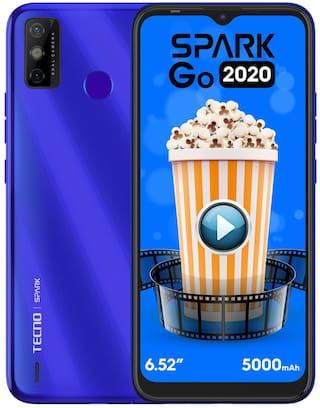 Tecno Spark Go 2020 2 GB 32 GB Aqua Blue