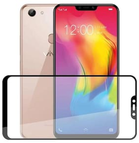 TEMPERED GLASSES Edge to edge tempered glass For Vivo y81
