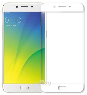 TEMPERED GLASSES Edge to edge tempered glass For Oppo a57