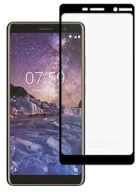 TEMPERED GLASSES Edge to edge tempered glass For Nokia 7 plus
