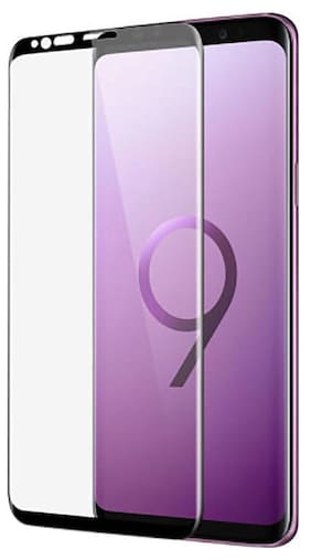 TEMPERED GLASSES Edge To Edge Tempered Glass For Samsung Galaxy S9 Plus