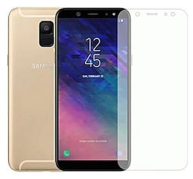 TEMPERED GLASSES Tempered glass For Samsung a6 plus