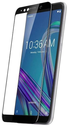 TEMPERED GLASSES Edge to edge tempered glass For Asus zenfone max pro m1
