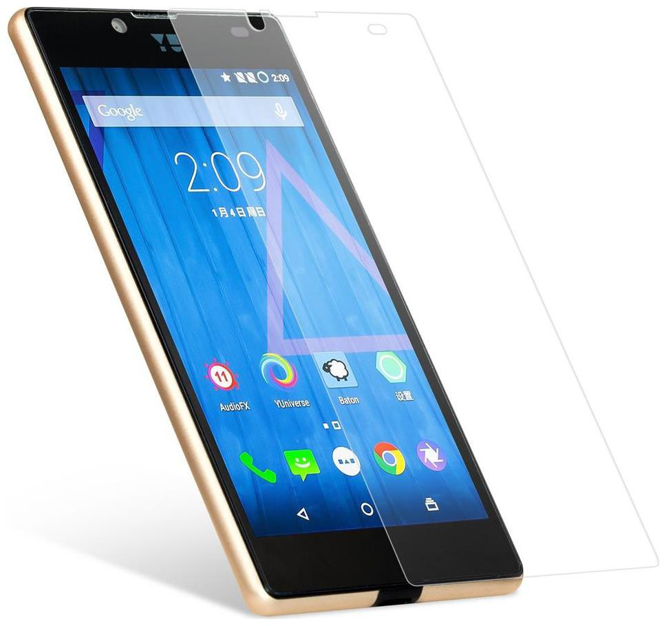 Tempered Glass Screen Protector For  Micromax yu yuphoria   pack of 2