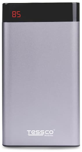 Tessco HP-359 10000 mAh Portable Power Bank - Grey