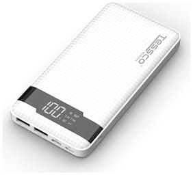 Tessco HP-361 10000 mAh Portable Power Bank - White
