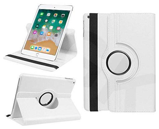TGK Leather Back Cover For  Apple iPad Air   White