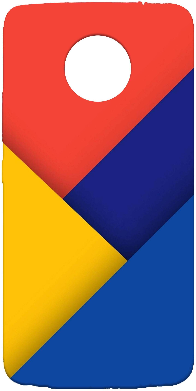 THE GIZMO Silicone Multi Color Back Cover For Motorola Moto E4 Plus