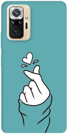 Redmi Note 10 Pro Max Silicone Back Cover By The Wide Store ( Multi )