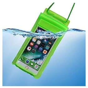 TEQGO Plastic Water Proof Pouch For 10.or D ( Multi )