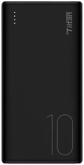 Tiitan P10 10000 mAh Portable Power Bank - Black