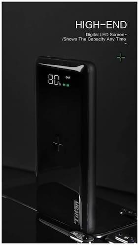 Tiitan P8 8000 mAh Portable Power Bank - Black