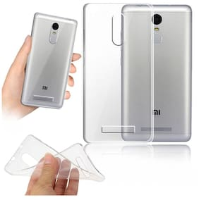 Silicone Transparent Soft Case For Xiaomi Redmi Note4
