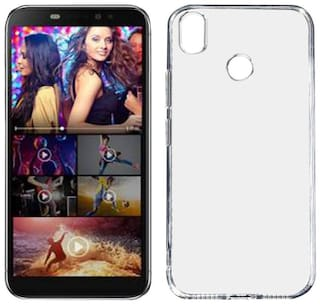 Transparent ULTRA-CLEAR Slim Silicon Back Cover Back  Case for Itel S42