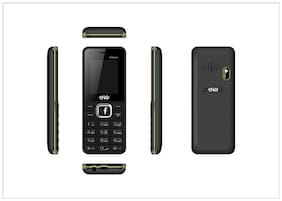Trio T4 Selfie Black Green (1.77 Display,1000 mAh Battery,WFM,Selfie Camera)