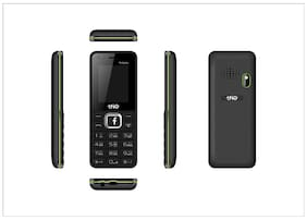 Trio T4 Selfie Black Green (1.77 Display,1000 mAh Battery,WFM,Selfie Camera)
