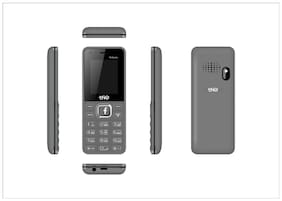 Trio T4 Selfie Dual Sim Black & Grey