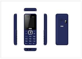 Trio T4 Selfie Navy Blue (1.77 Display,1000 mAh Battery,WFM,Selfie Camera)