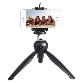 Tripod YT-228 Mobile Stand Tripod Phone Clip Holder SLR DSLR Camera Mount Stand