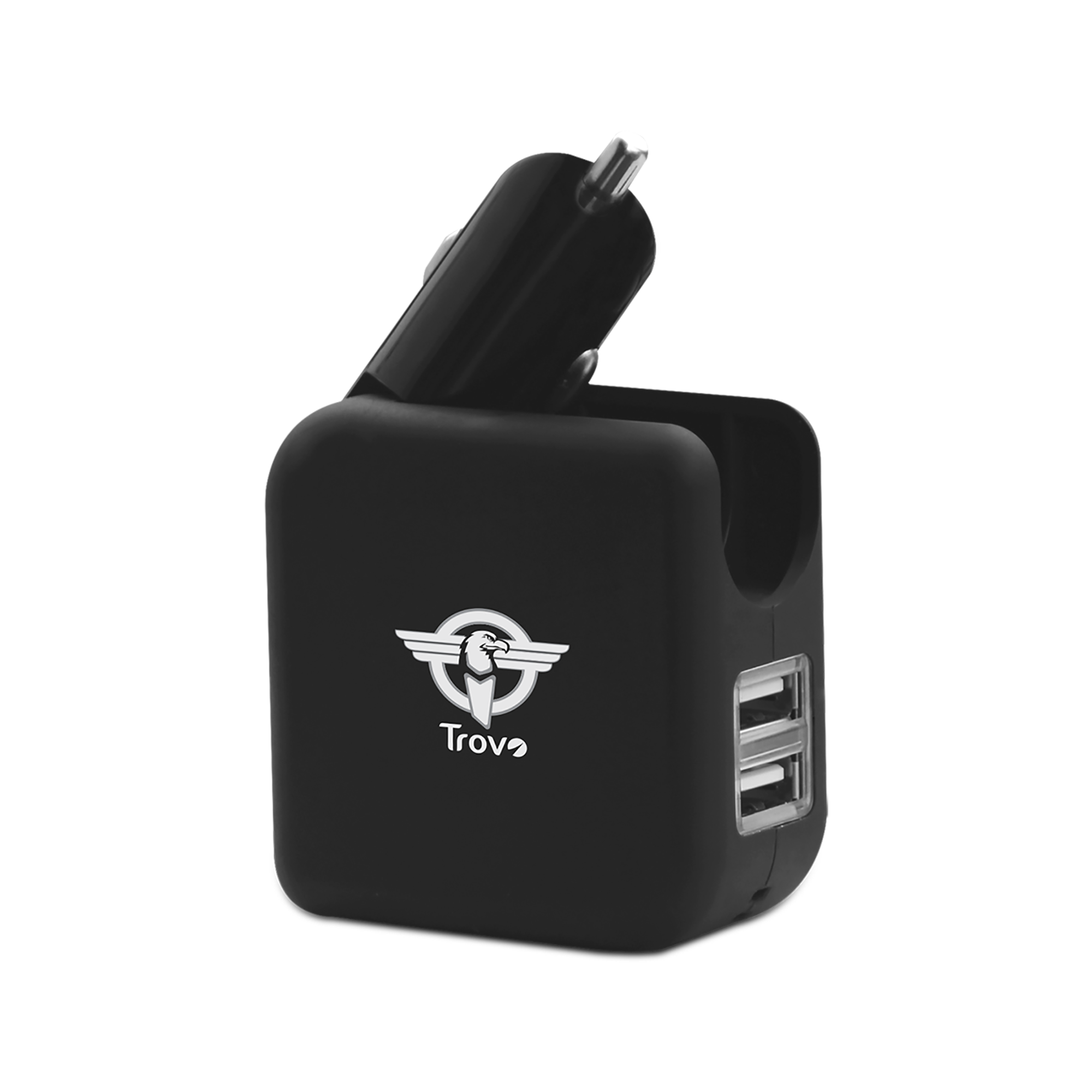 Trovo Car Charger   2 USB Ports