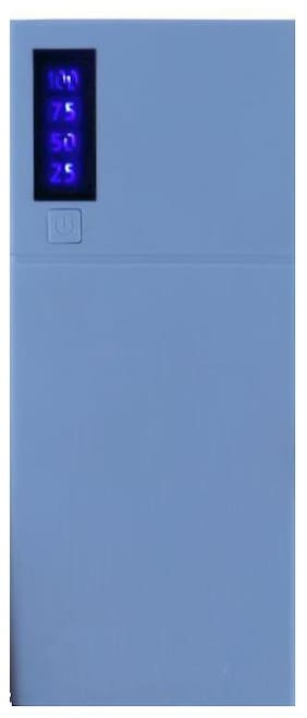 TSV 10000 mAh Portable Power Bank - Blue