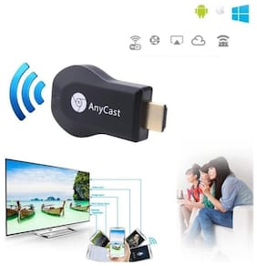 TSV Anycast Data & Charging Micro USB Cable ( 0.5 m , Black )