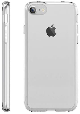 Tsv Apple iPhone 7  Soft silicon Elastic  Premium Light Weight Waterproof Washable Crystal Clear Transparent Case