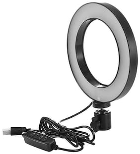 TSV Big LED Ring Light for Camera Smartphone to Capture Your Photo and Video and Other Phone's App with 3120 Tripod Stand