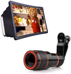 TSV Plastic Magnifier Stand Mobile Holder