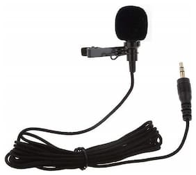 TSV Noise Cancellation Clip Collar Mic Condenser For Youtube Video Recording | Interviews | Lectures | News Reporting And Much More
