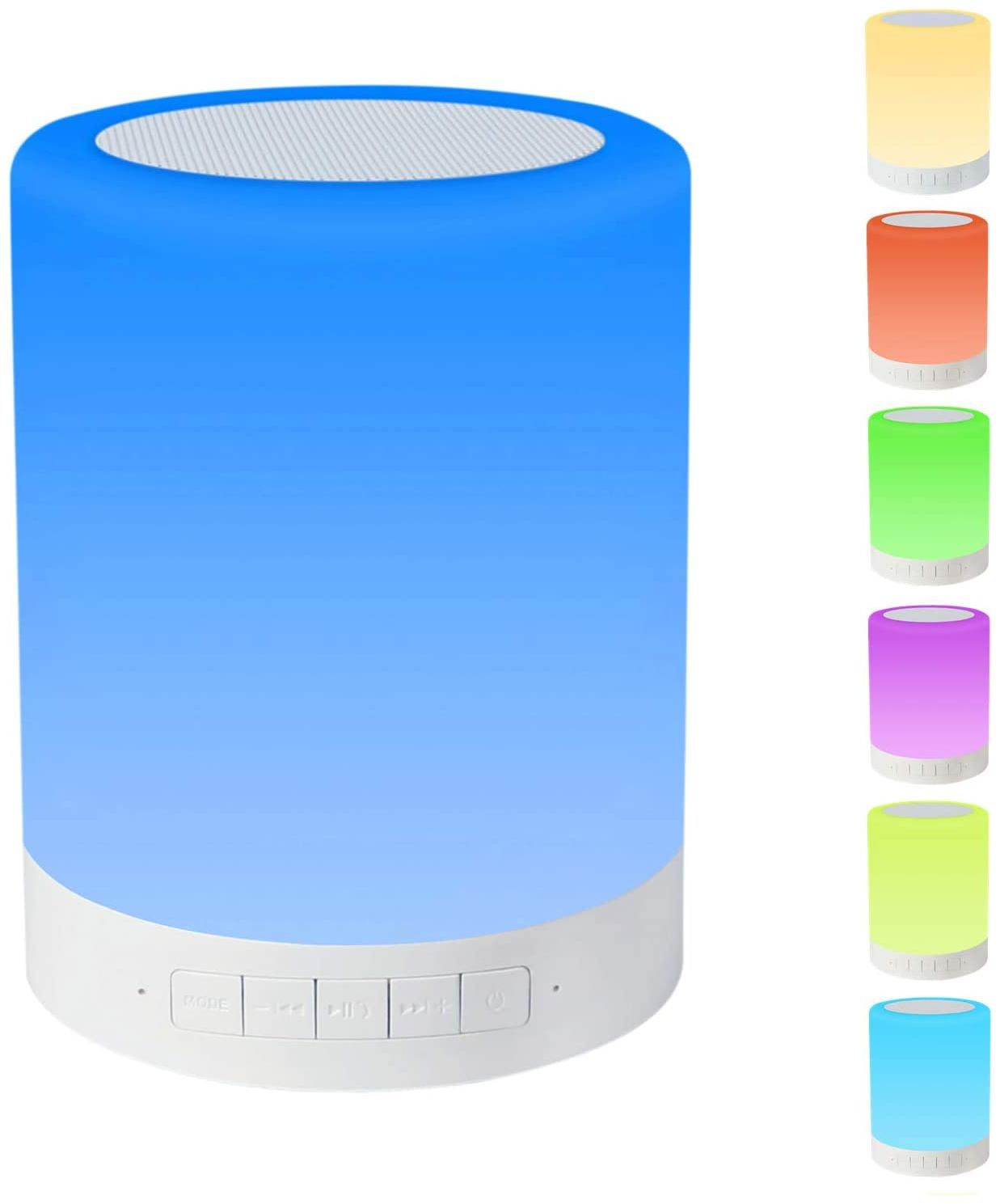 TSV Rechargeable Wireless Bluetooth Speaker and LED Night Light Special Launch Offer...