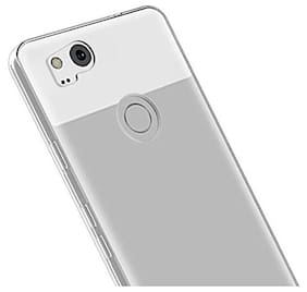 TSV Silicon Transparent Protective Back Cover Case For Google Pixel 2