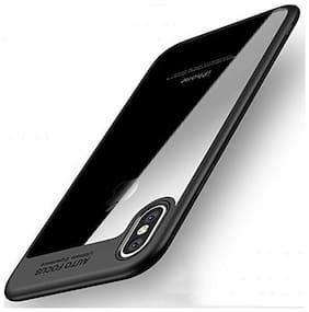 TSV Ultra Thin Shock Proof Transparent Black Bumper Case For Apple iPhone X