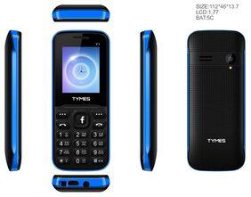 TYMES Y1 256 MB (Black & Royal Blue)