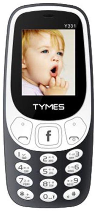 Tymes Y331 Dual Sim Grey