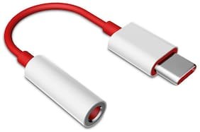 Atisundar Data & Charging Type-C Cable ( 0.1 m , Red )